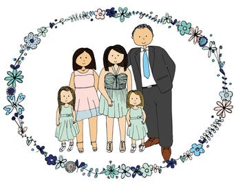 Personalised Family Portrait