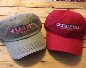 Vintage Farmall Tractor ball cap Free shipping 4400ea029ae5