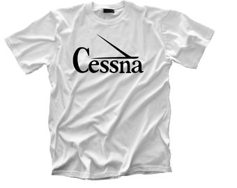 Vintage Cessna Logo Tee  FREE SHIPPING