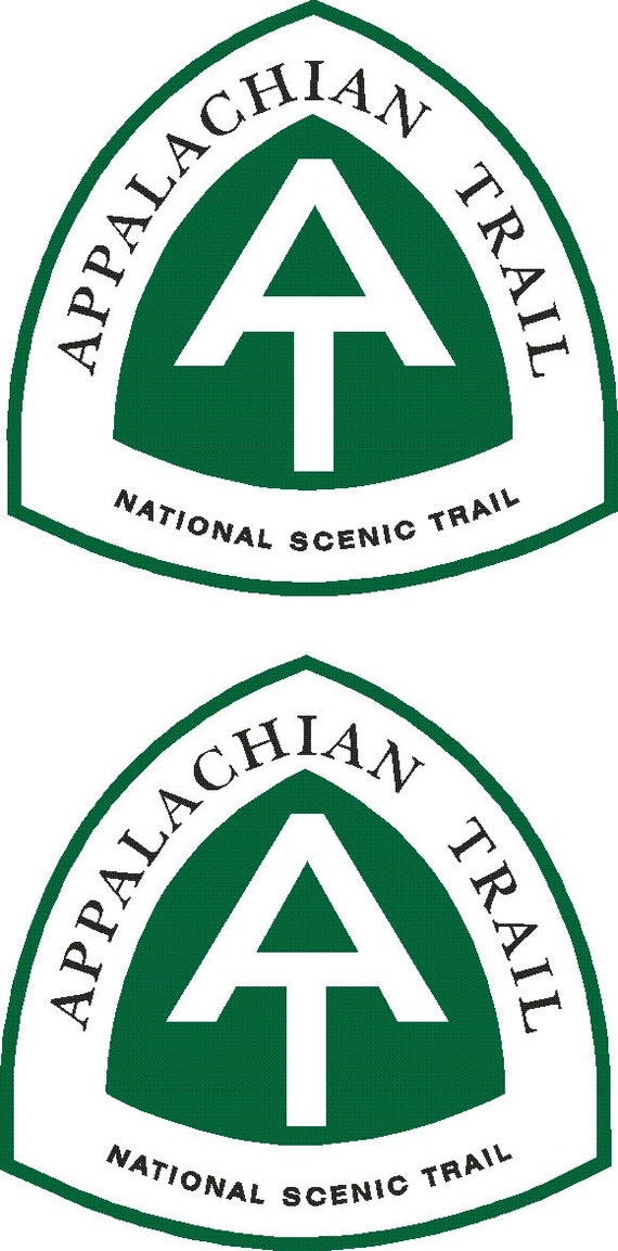 "Appalachian Trail National Scenic Trail sticker decal  14/"""