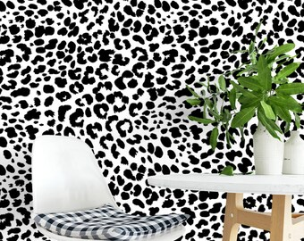 Popular Items For Leopard Wallpaper
