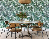 Palm Leaf Removable Wallpaper B127-27