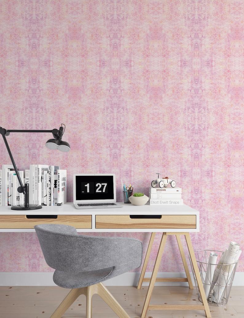 Custom Ikat Removable Wallpaper