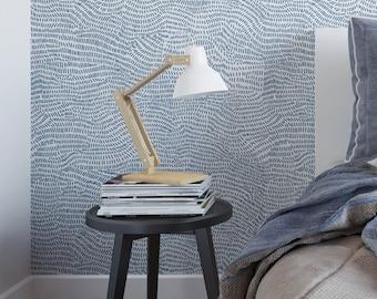 Sketched Line Waves Removable Wallpaper G134-27