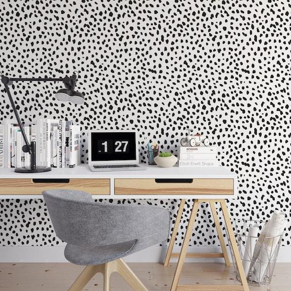 Dalmatian Removable Wallpaper Cute Self Adhesive