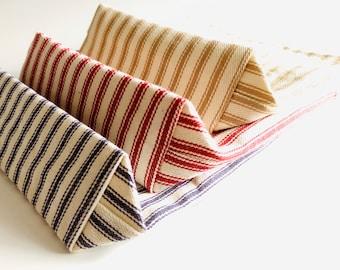Snack Sack, Ticking Stripe, Reusable