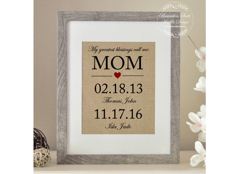 Mother Of The Bride Gift Birthday Gifts For Mom From