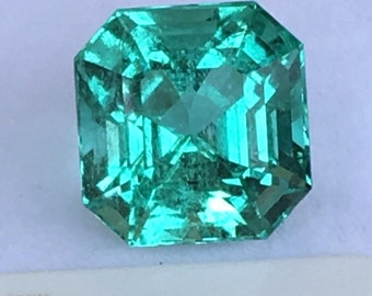 5.19ct colombia GIA Emerald