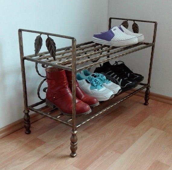 Vintage Shoe Rack Shoe Storage Solution Shoe Stand Shoe Holder Etsy