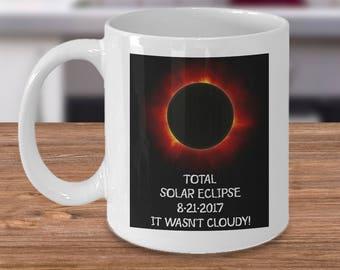 Coffee Mug Total Solar Eclipse Mug 2017 Coffee Tea Gift Keepsake August 21