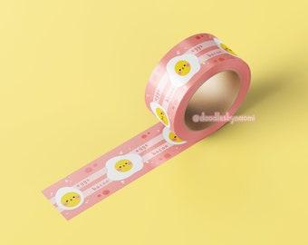 Egg washi tape   Bacon washi tape   Cute washi tape   Washi tape