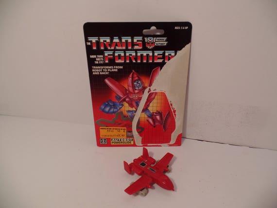 "1985 transformateurs /""POWERGLIDE/"" Autobot G1 Mini-BOT vintage"