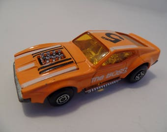 1972 The Boss (Ford Mustang) Orange Superfast Matchbox