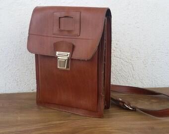 Men's shoulder bag Commander bag Military bag Men's leatherette bag Cross body bag shoulder strap bag Gift for man