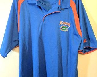 46c1f302817 University of Florida Gators UF Embroidered Starter Polo Adult Mens XL