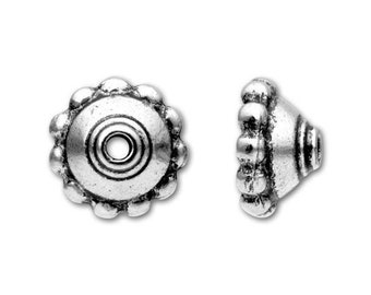 20pcs Raw Brass Bead Cap Cone 44x5.8mm 3038C-W-388