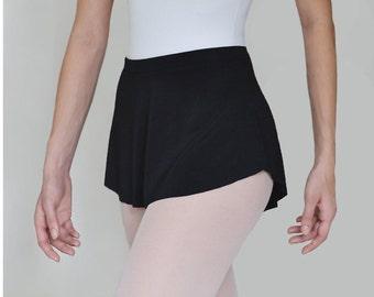 The Black Ballet Skirt - SAB skirt- Dance Wear- Classic Black - Turn Dancewear- Lyrical costume