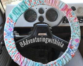 Paradise - boho steering wheel cover