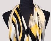 Delicate wondrous plaids ultrafine designer silk scarf wedding scarf Turkish silk scarf Bursa silk scarf silk scarf women square silk scarf