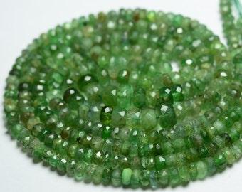 lite green-dark green Wholesale Jade Stone  Crystal heishi wheel  Rondelel abacus spacer beads 6-10mm  emeral green Full Strand 16inch