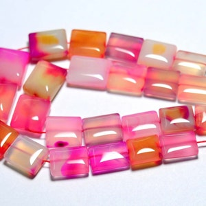 7 Inches Strand Natural Chalcedony Beads 11x12mm to 14x14mm Faceted Heart Big Briolettes Gemstone Beads Rare Chalcedony Briolettes No3433