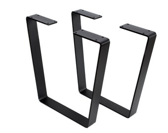 Coffee Table Legs,Bench Legs, Metal Bench Legs, Metal Table Legs , Steel Bench Legs, Steel Legs Powder Coated SET of 2