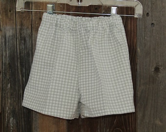 Child GW Checked Shorts