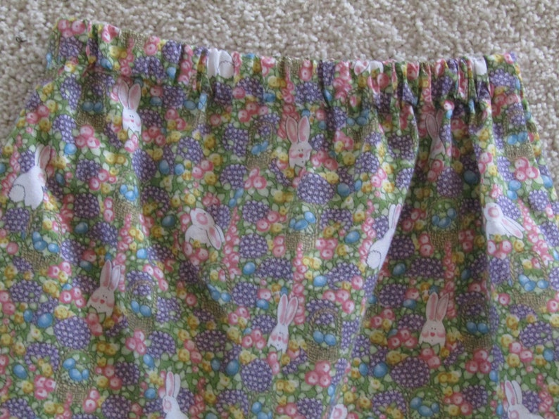 Child Size 4 Lil Bunnies Easter Skirt