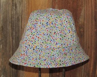 Child Paint Splatter Bucket Hat