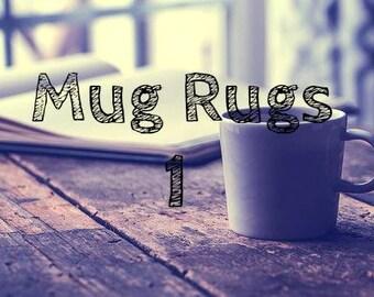 Surprise Crochet Mug Rugs