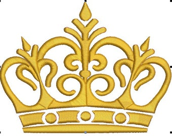 crown Machine Embroidery Designs, instantly download
