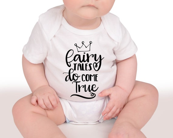 80679e54a99a Baby Girl Gift Fairytales Do Come True Bodysuit Baby Shower