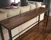 Sofa Table, Custom built to any size