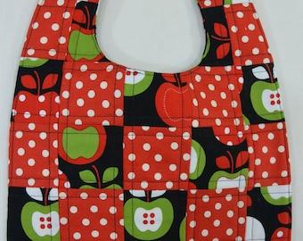Apple Baby Bib