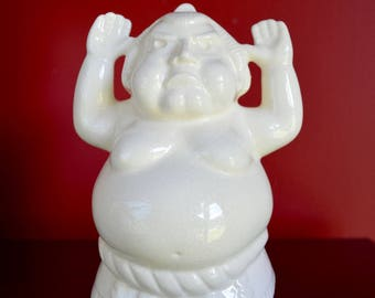 Benihana Mug Tiki Mug, Sumo Wrestler Mug, Made in Japan