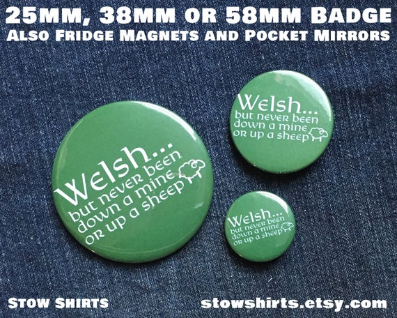 My Other Badge is Funny BUTTON PIN BADGE 25mm 1 INCH Funny Joke Novelty