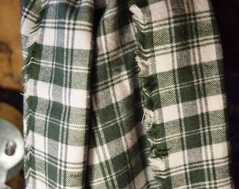 Super Soft Cotton Plaid Flannel Scarf