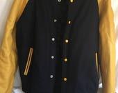 RETRO 1995 Vintage DAVID LETTERMAN WorldWide Pants Inc. Jacket Size L