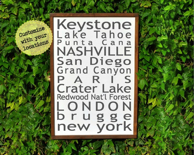 Fifth Wedding Anniversary Gifts For Men: 5 Year Anniversary Gifts For Men Wood Wall Art 5th