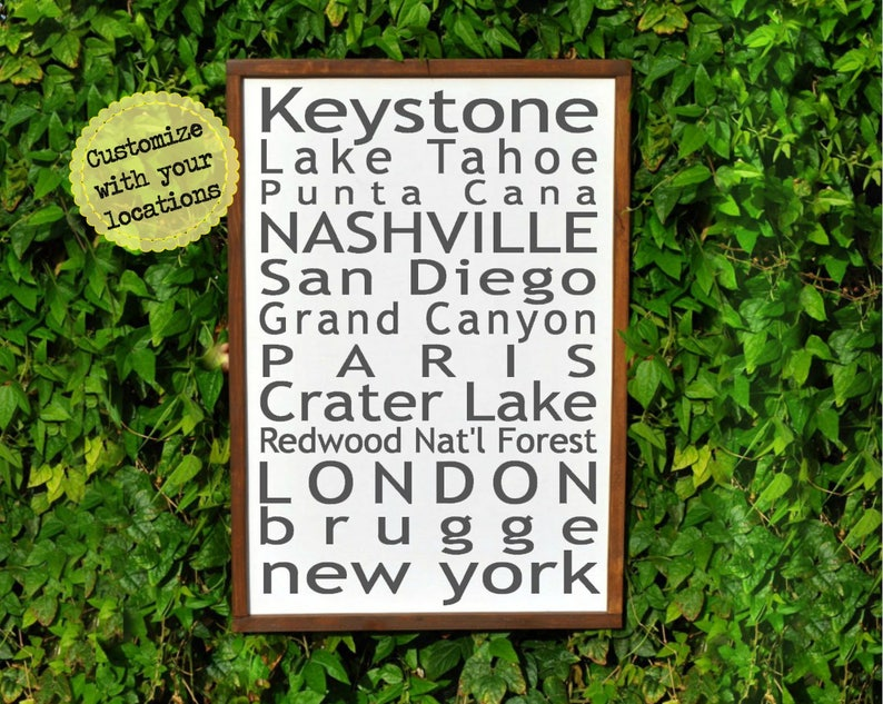 5 Year Anniversary Gifts For Men Wood Wall Art 5th Anniversary Etsy