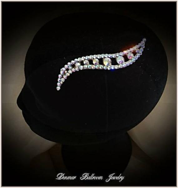 Hair Accessory Ballroom dance Jewelry Ballroom Jewelry