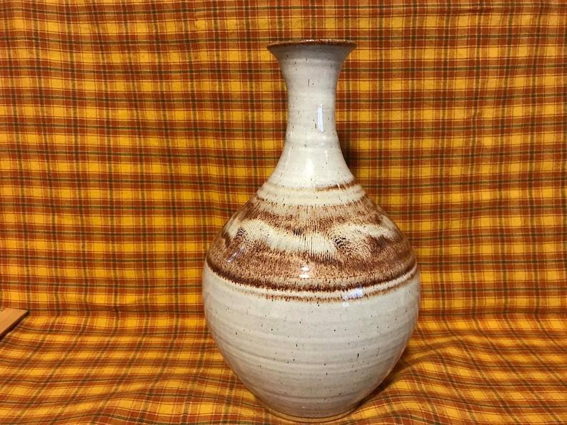 Paul MN Vintage John Deneen Pottery Vase Studio Pottery St