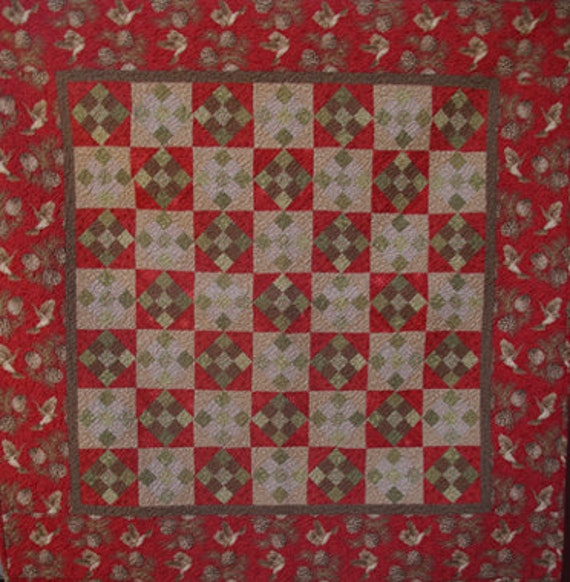 the latest c3894 51db8 Winter Pines Quilt Pattern by Shopgirl Quilts