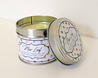 New Leaf | AC inspired | Vegan Scented Candle
