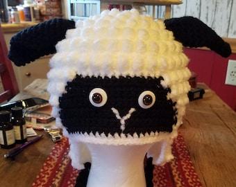 Crochet Sheep Hat