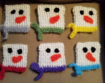 Snowman Scrubbies