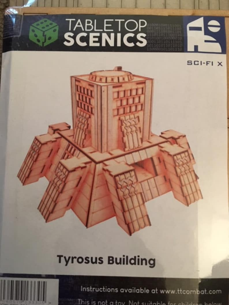 10mm Tyrosus Building