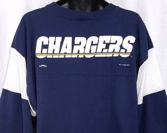 0ecd2b429 San Diego Chargers Jersey Shirt Vintage 90s Lee Sport Made In USA Mens Size  XL