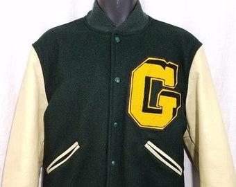 e1e0bf289 1950s varsity jacket | Etsy