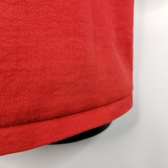 Wisconsin Badgers Sweatshirt Vintage 80s Jersey N… - image 3